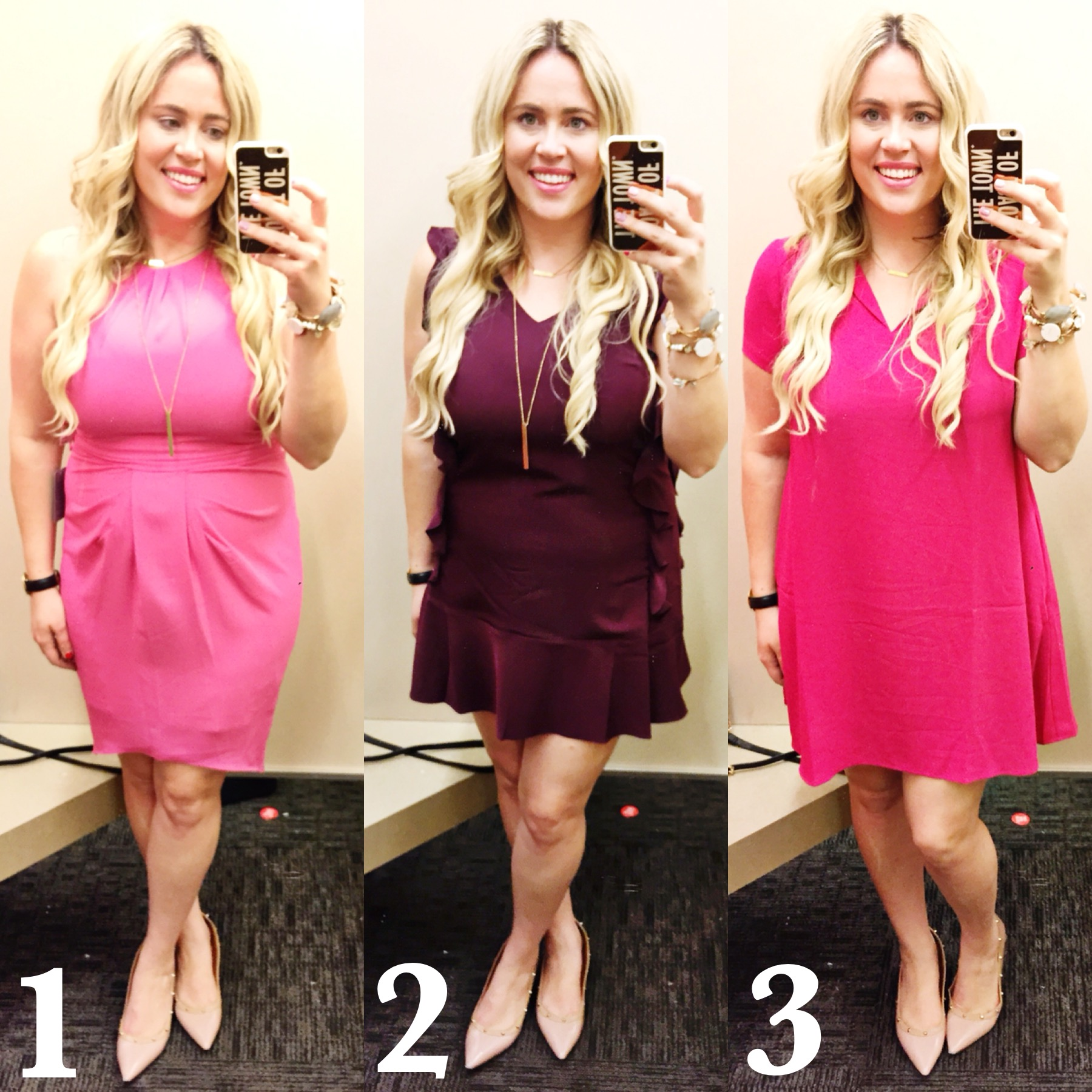 Dressing Room Dilemma Valentines Dresses xx Nordstrom Rack graphic