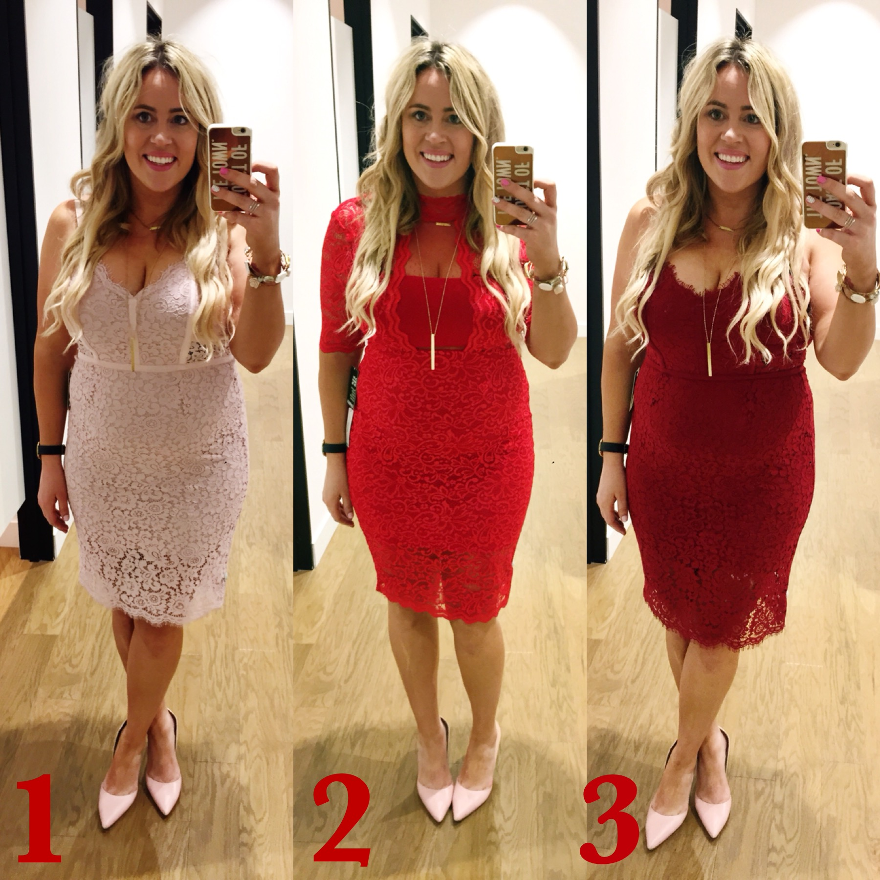 Dressing Room Dilemma – Valentines Dress xx Express graphic