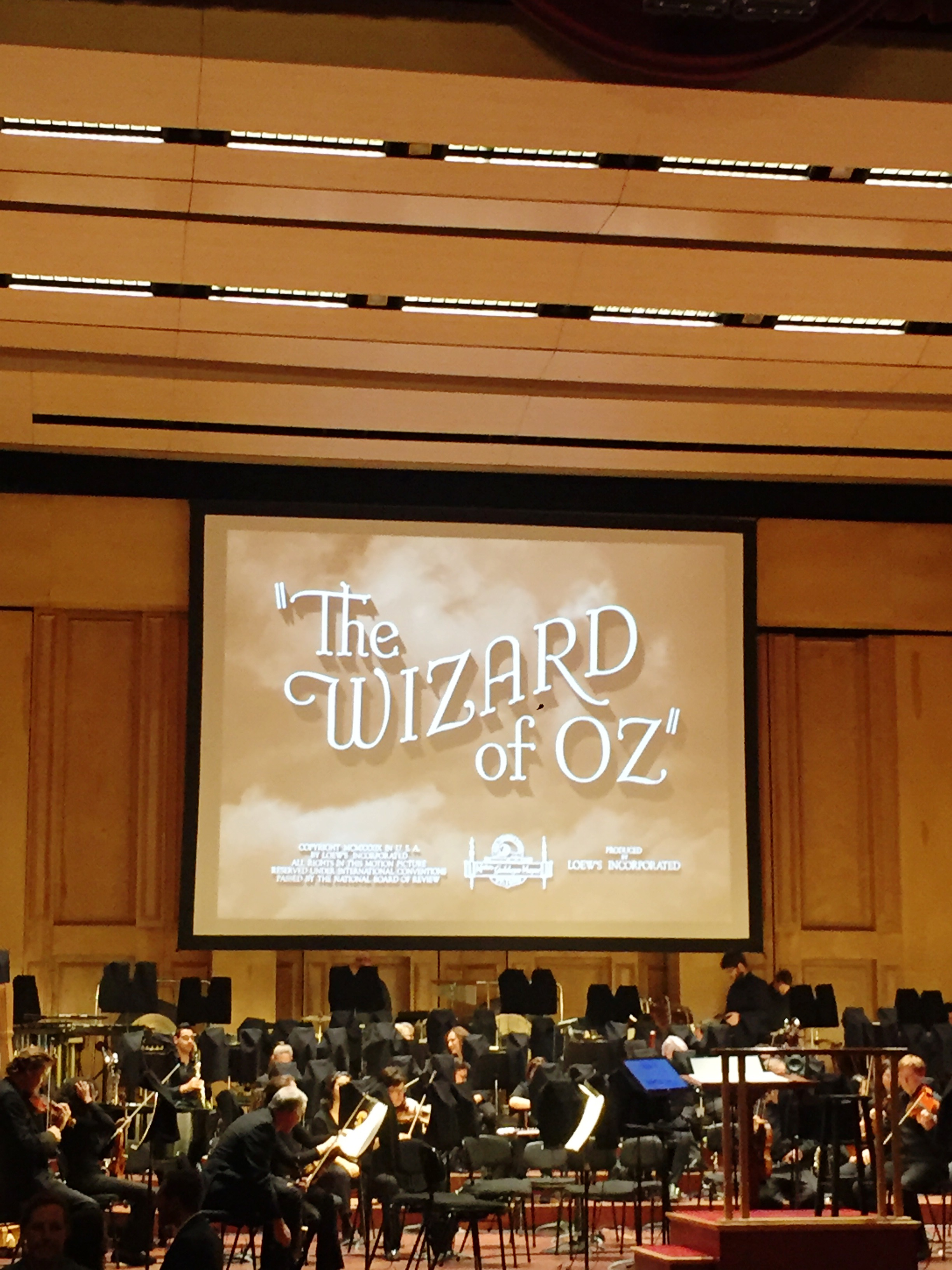 The Wizard of Oz xx The San Diego Symphony graphic