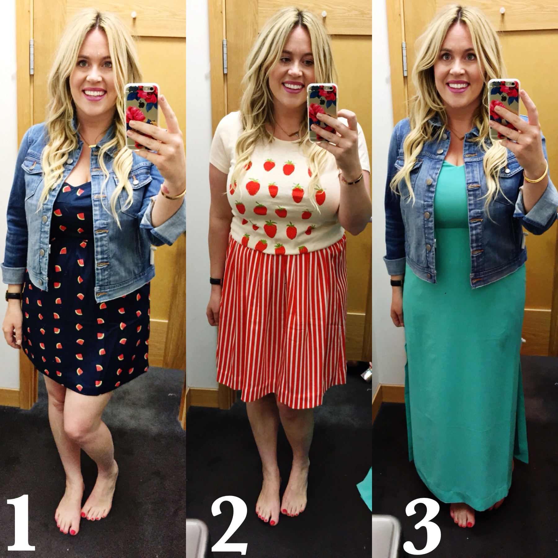 Dressing Room Dilemma: Prints and Stripes for Spring graphic