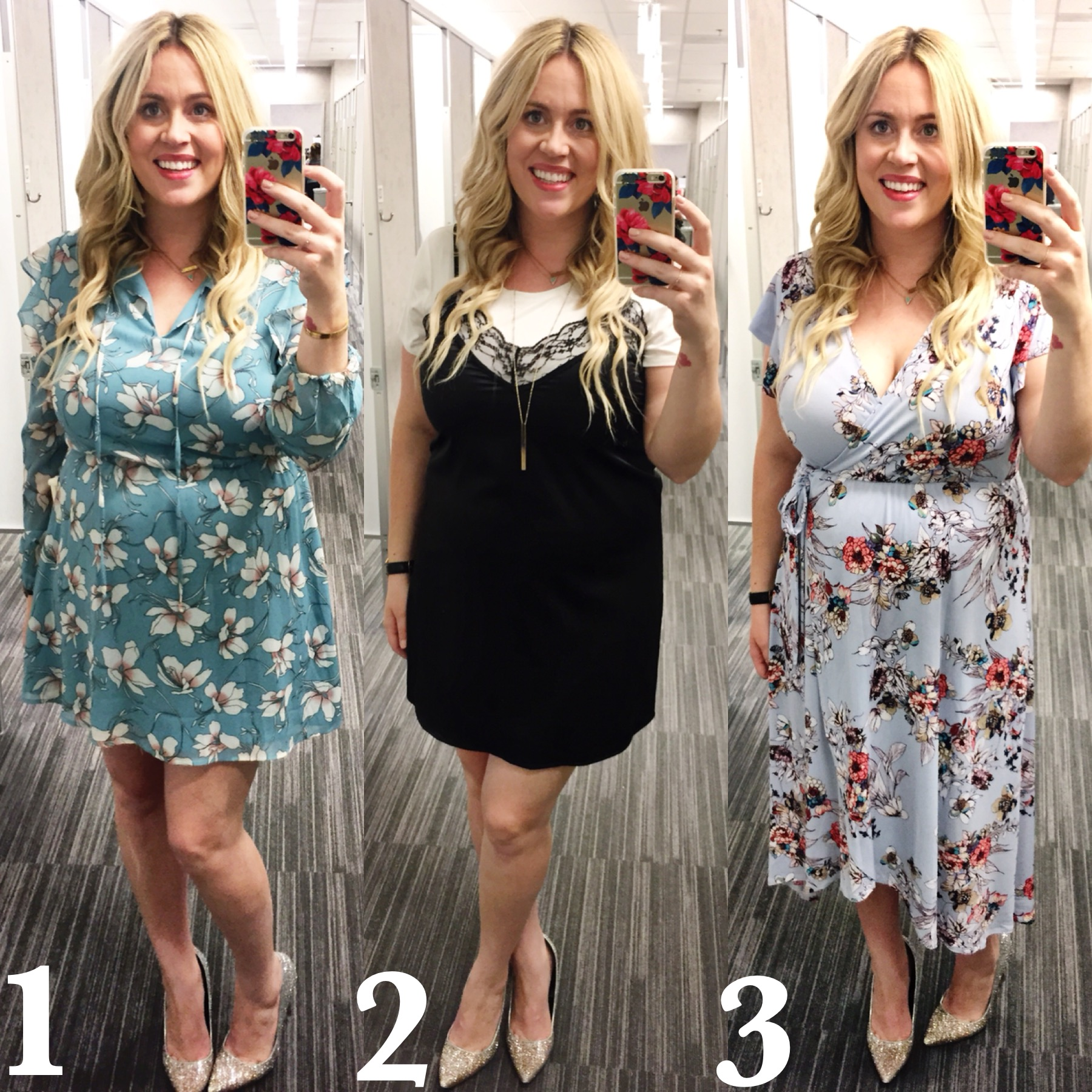 Dressing Room Diliemma xx Spring Florals graphic