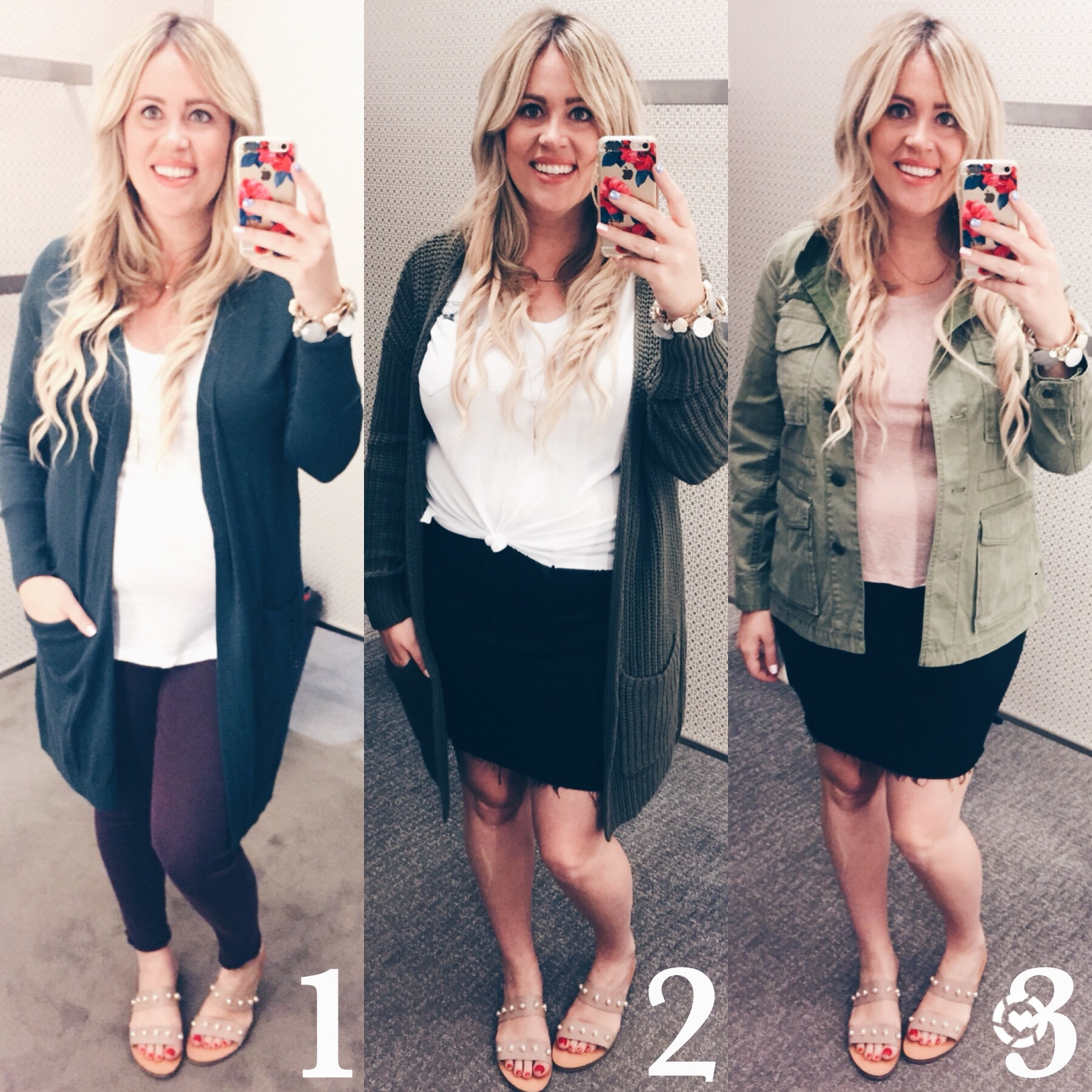 Shades of Green for Fall xx Dressing Room Dilemma graphic