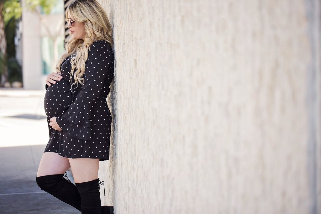 Polka Dots and Layered Bell Sleeves graphic