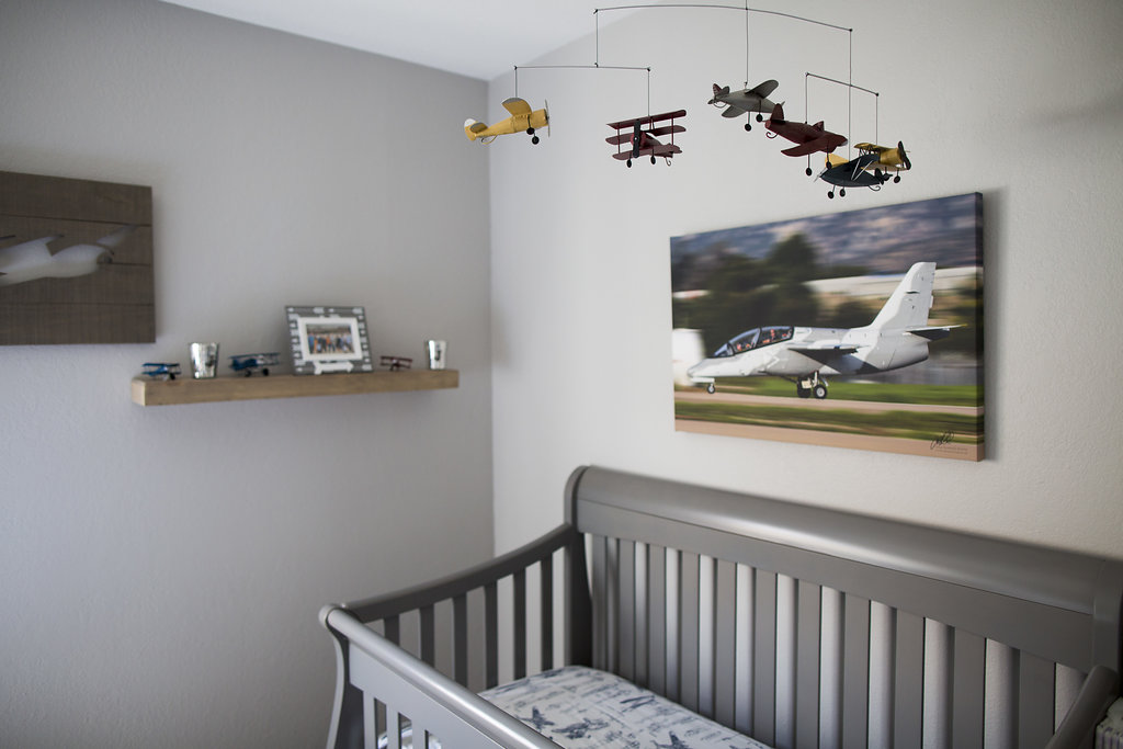 Jaxon's Airplane Nursery graphic