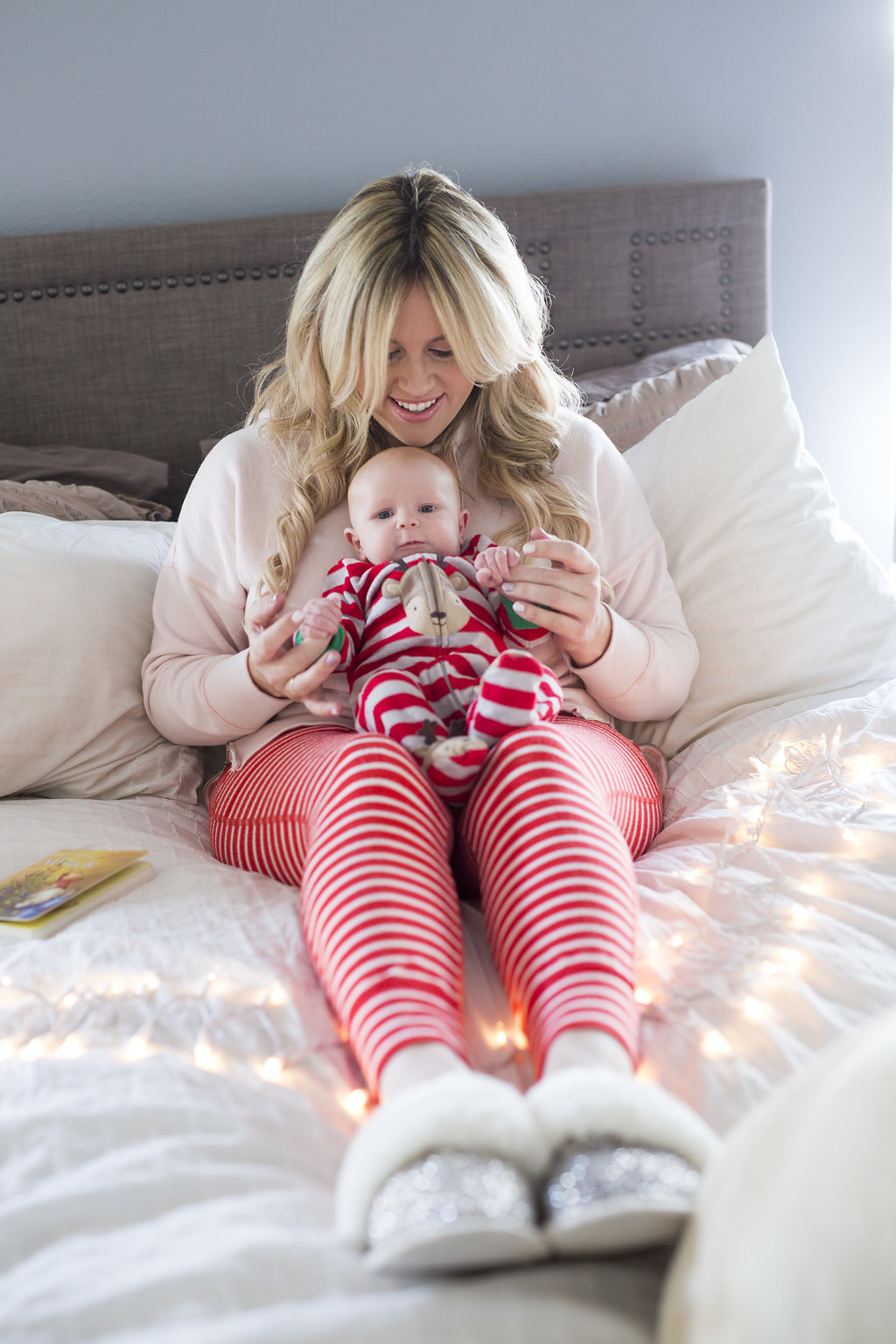 Mommy and Me Pajamas xx Aerie graphic