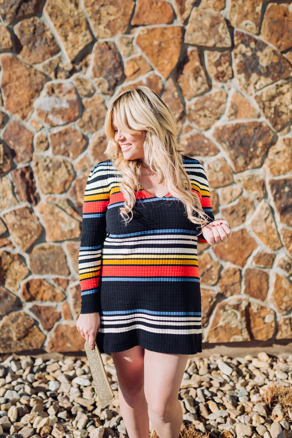 Striped Dress xx Shopbop graphic